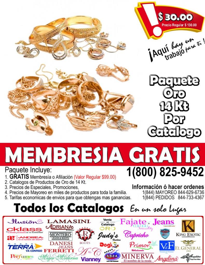 Catalogo de Oro Italiano Original